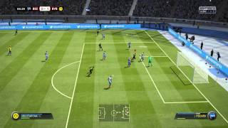Fifa 15 Gameplay with Fidel 2.0 Mod