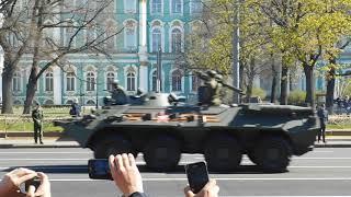Парад 9 мая 2018 года в Санкт-Петербурге