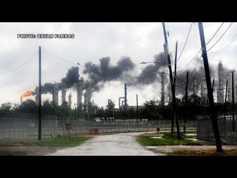 Environmental Crisis Unfolding in Houston as Oil & Chemical Industry Spew Toxic Pollutants into Air