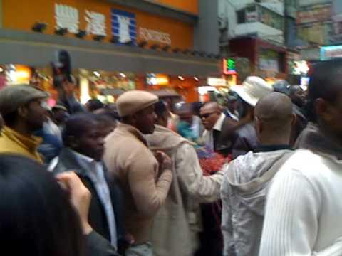 African americans in hong kong