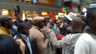Black People enjoying on the Streets of Hong Kong By Riyaz