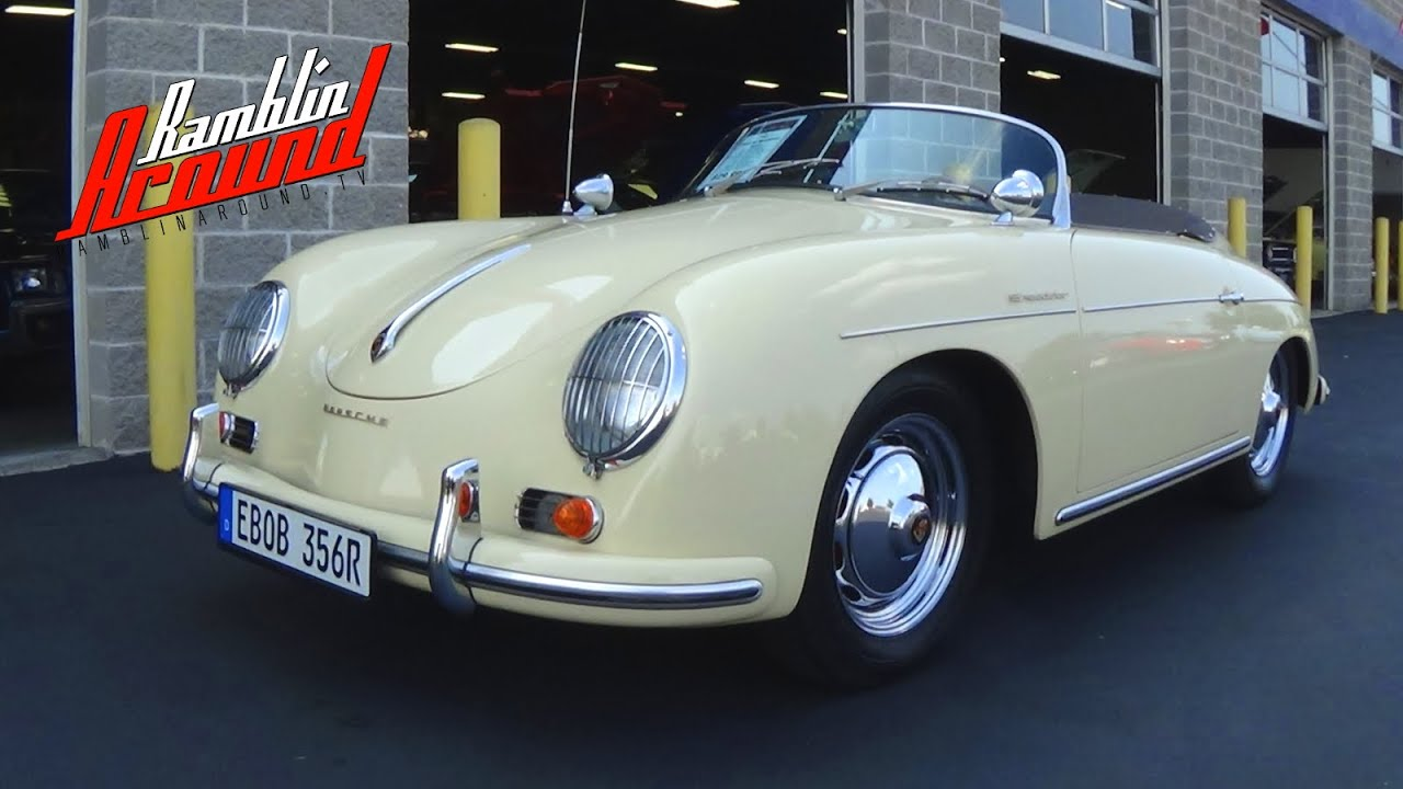 porsche 356 speedster replica at fast lane classic cars. Black Bedroom Furniture Sets. Home Design Ideas