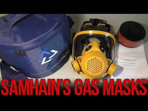 Обзор противогаза с маской Artirus-У | Russian industrial gas mask Artirus