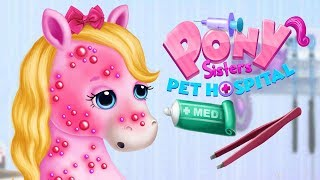 Fun Horse Care Games - Cute little Pet Pony Sister Animal Care Makeover Best Kids & Girls Games