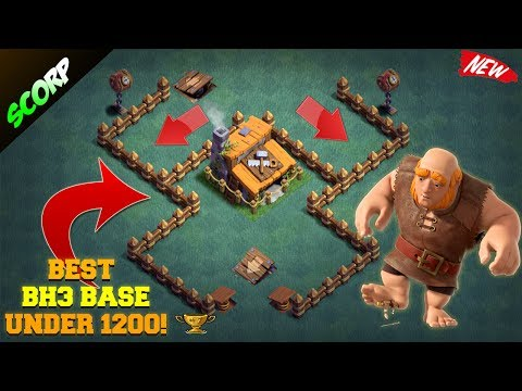 Clash Of Clans - Builder Hall 3 Base/ Anti 2 Star/ Boat Update 2017