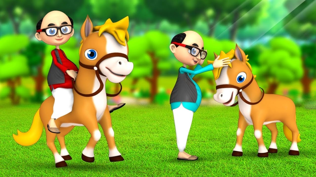 घमंडी घोड़ा और साहूकार | Foolish Horse and Merchant 3D Animated Hindi Moral Stories | JOJOTV Hindi