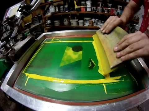 4 Color CMYK Screen Printing Process – Sixty Six Silk Screening – Albuquerque, NM