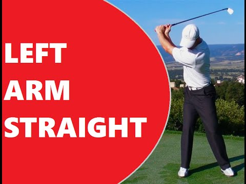 How to Keep the Left Arm Straight