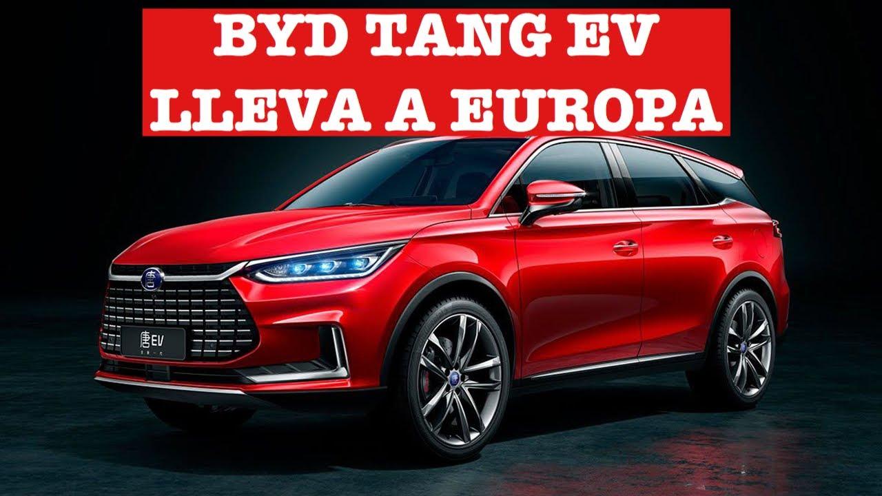BYD Tang aterriza en Europa: El primer Gran SUV Chino eléctrico