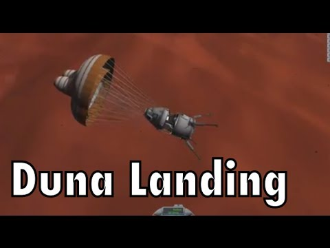 Kerbal Space Program - Interstellar Quest - Episode 48 - Landing On Duna