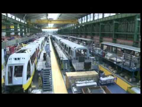 Construccion Nuevos Trenes para el Metro de Caracas - CAF