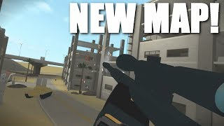 TRICKSHOTTING ON THE *NEW* MAP IN PHANTOM FORCES (roblox)