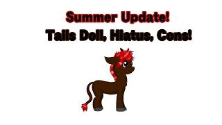 Update! Ask the Tails Doll Season 2, Hiatus, Cons!
