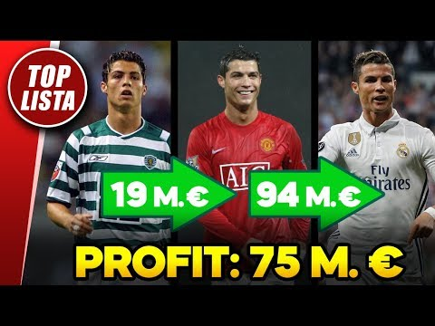 A focivilág legnagyobb NYERESÉGGEL eladott játékosai!