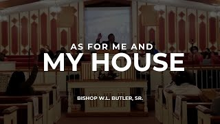 Bishop Butler || As For Me And My House