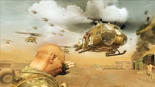 """INTENSE Marines Defend Vietnam Camp Mission! Call of Duty: Black Ops """"S.O.G."""" Cold War CIA Mission!"""