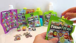 Teeny Freaks Blind Bags Opening - Collectible Figures with a Split Personality