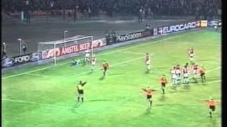 2000 (November 7) Shakhtar Donetsk (Ukraine) 3-Arsenal (England) 0 (Champions League)