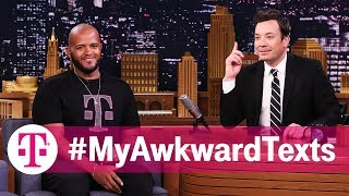 Jimmy Fallon Reads #MyAwkwardTexts: Family Edition | T-Mobile