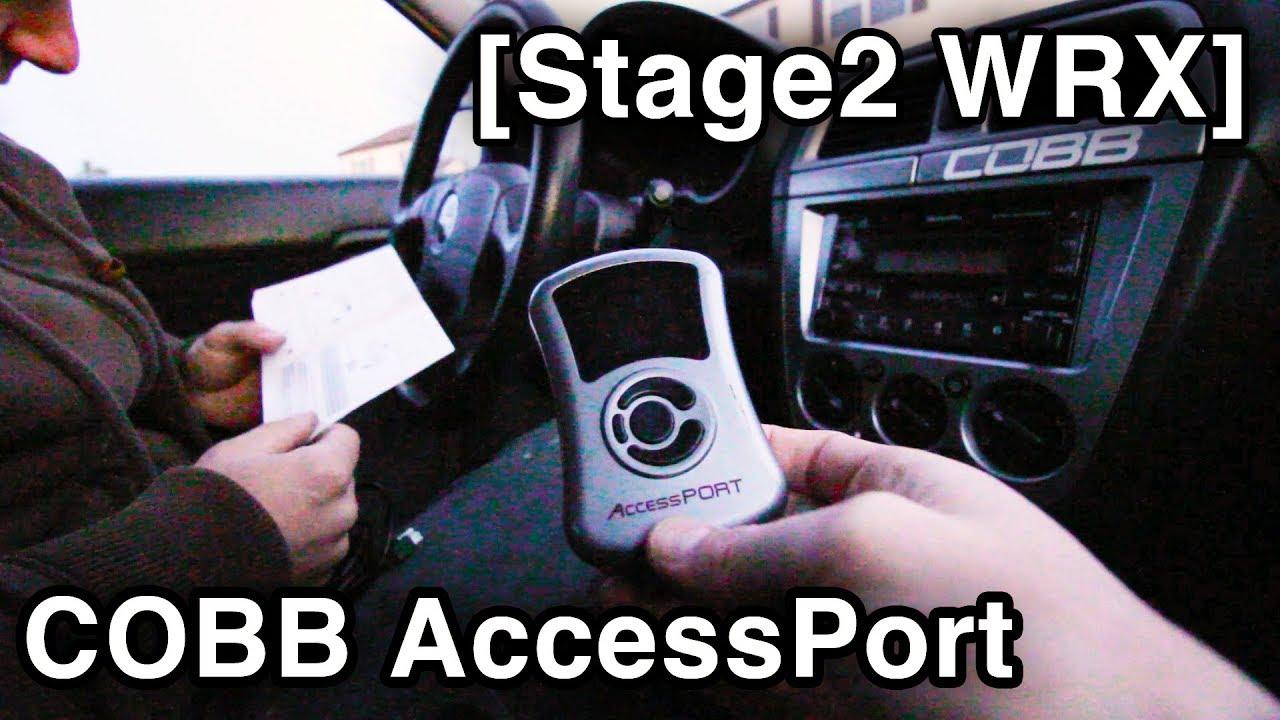 COBB AccessPort Install [Tune & Test Drive // Stage2 Subaru WRX Build]