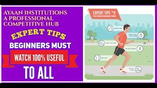Very Important Tips Of Running for learners , By Mohd.Anwar Internation sportsmen Ayaan institute