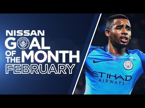 GOAL OF THE MONTH! | JESUS, AGUERO, SANCHO & FODEN! | FEBRUARY