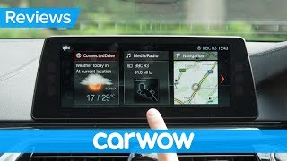 BMW 5 Series Touring iDrive 2018 infotainment and interior review | Mat Watson Reviews