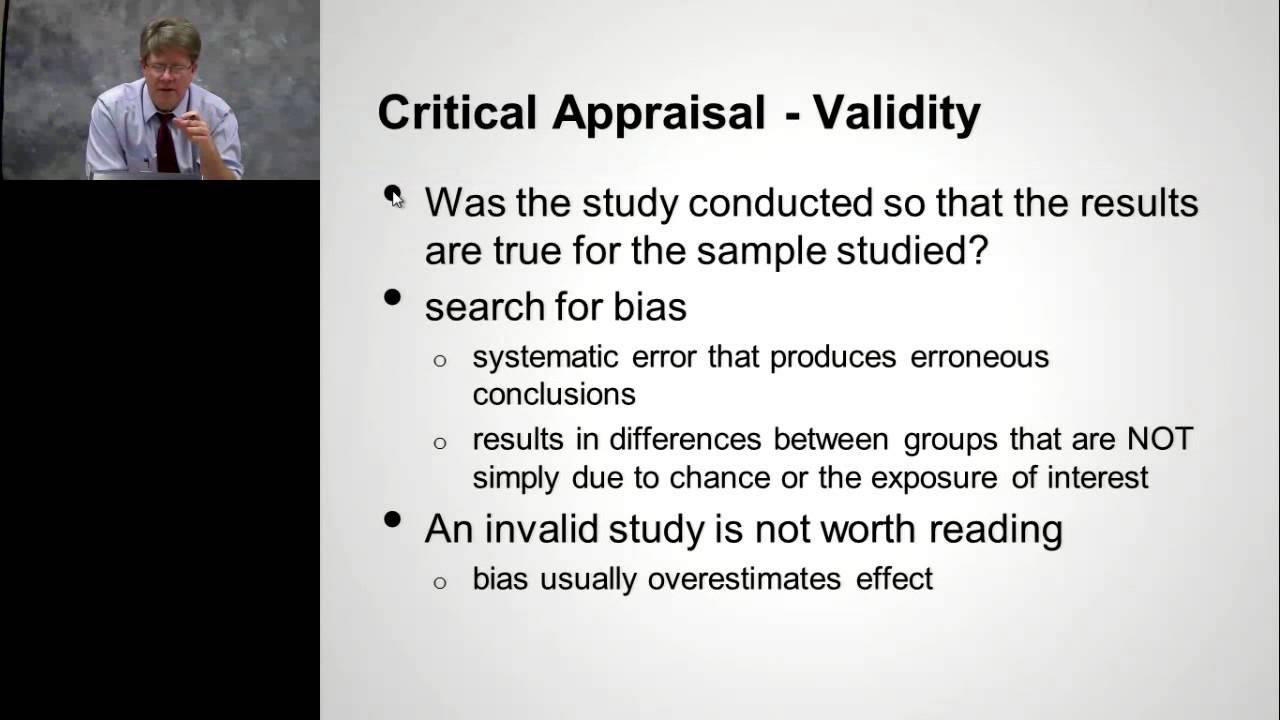 """Download Dr John Epling,  Evidence-Based Medicine: """"Basics of Critical Appraisal"""""""