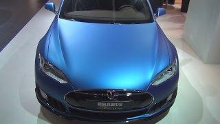 Brabus Zero Emission Tesla S 2015 Videos