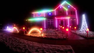 2013 Christmas Light Show - Christmas Vacation