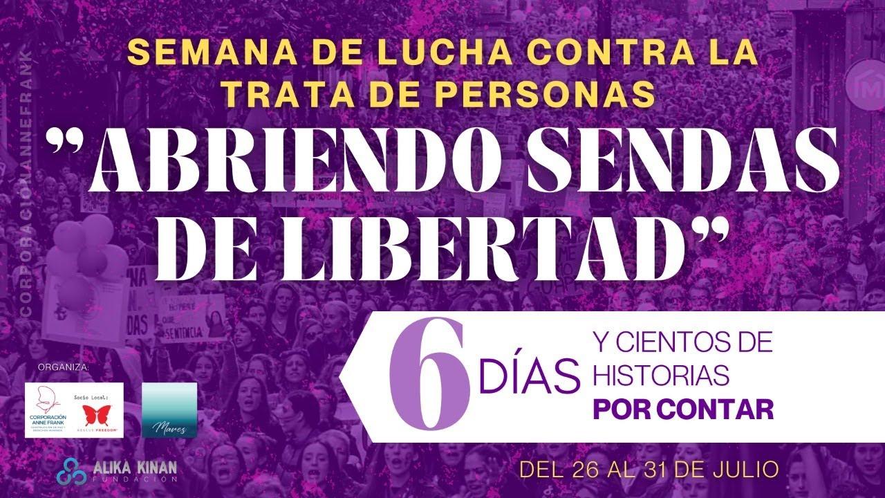Semana de acción en la lucha contra la trata de personas