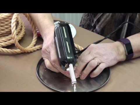 How to make a Cowboy Rope Basket - No glue, No sewing