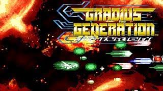[GBA 60fps] Gradius Generation Longplay(With Challenge mode)