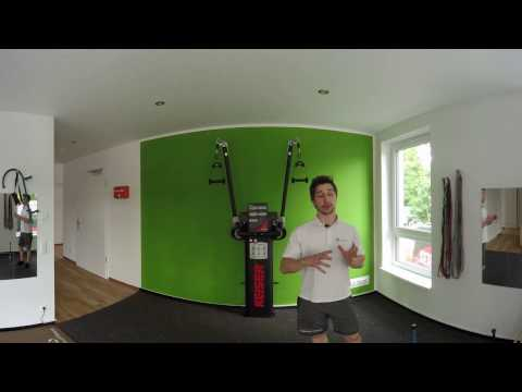 360° Rundgang durch das Vibrant Coaching PT-Studio