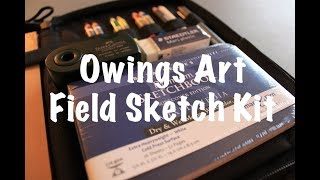 NEW - Owings Art Limited Edition Field Sketch Kit