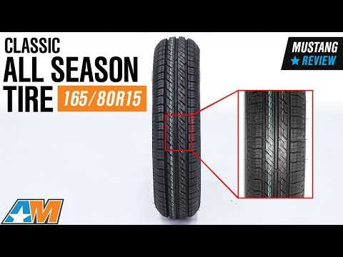 1979-2018 Mustang Classic All Season Tire - 165/80R15 Review