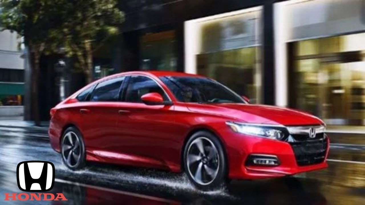 2019 honda accord interior exterior and drive of the excellent sedan