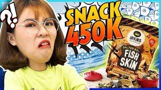 Snack mắc nhất Sài Gòn 450k/bịch || WHAT THE FOOD?