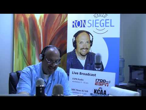 Ron Siegel Radio hosts Robert Mott Aug 12 2015