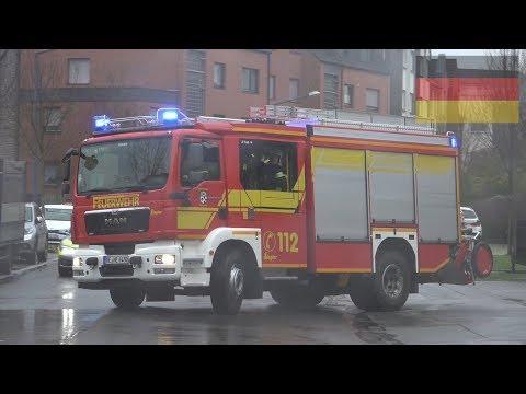 [Kellerbrand] Löschzug, RTW & 2x HLF der Feuerwehr Herten
