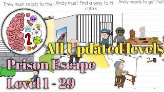 Brain test 2 Prison escape All levels 1 - 20 Walkthrough solution