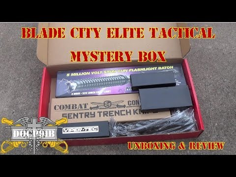Blade City Elite Tactical Mystery Box Unboxing & Full Review