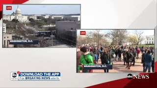 LIVE: March for Our Lives: Gun control protest in Washington, DC ABC News