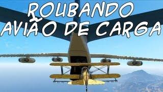 GTA 5: Roubando Avião de Carga PT-BR #28