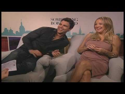 Interview with pregnant Kate Hudson for SOMETHING BORROWED