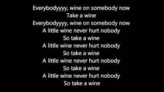 Patrice Roberts - A Little Wine (Lyrics Video)