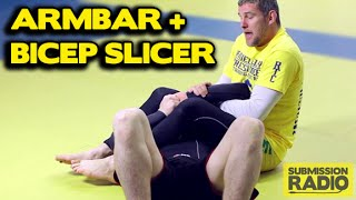 Ronda Rousey Rolling Armbar Variation w/ Bicep Slicer - demonstrated by UFC fighter Dan Kelly