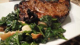 Rib-eye Steak With Pinoy Marinade