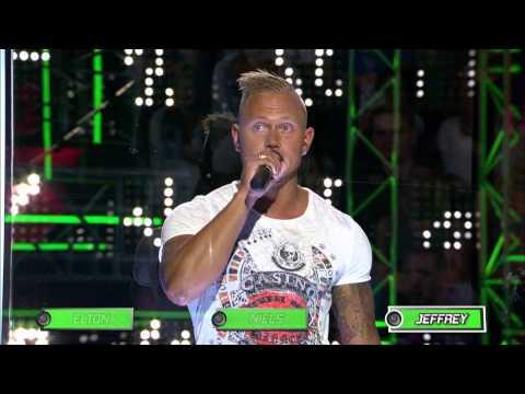 Verfballon - Elton, Niels & Jeffrey - Show 3 - Beat It