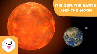 The Sun, Earth, and Moon - Solar System for Kids